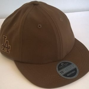 LA dodgers cap new era black label adjustable new